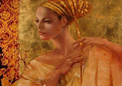 La jeune femme au ruban